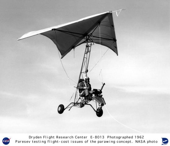 NASA Parawing Testing